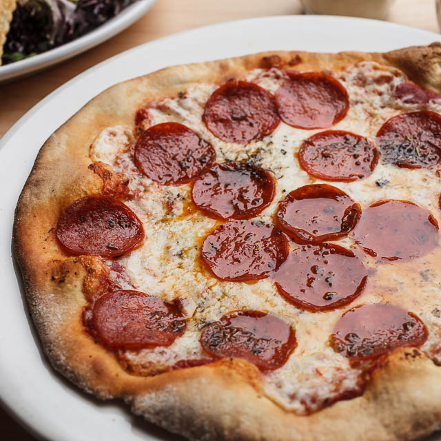 Louisiana Pizza Kitchen's Pepperoni Pizza